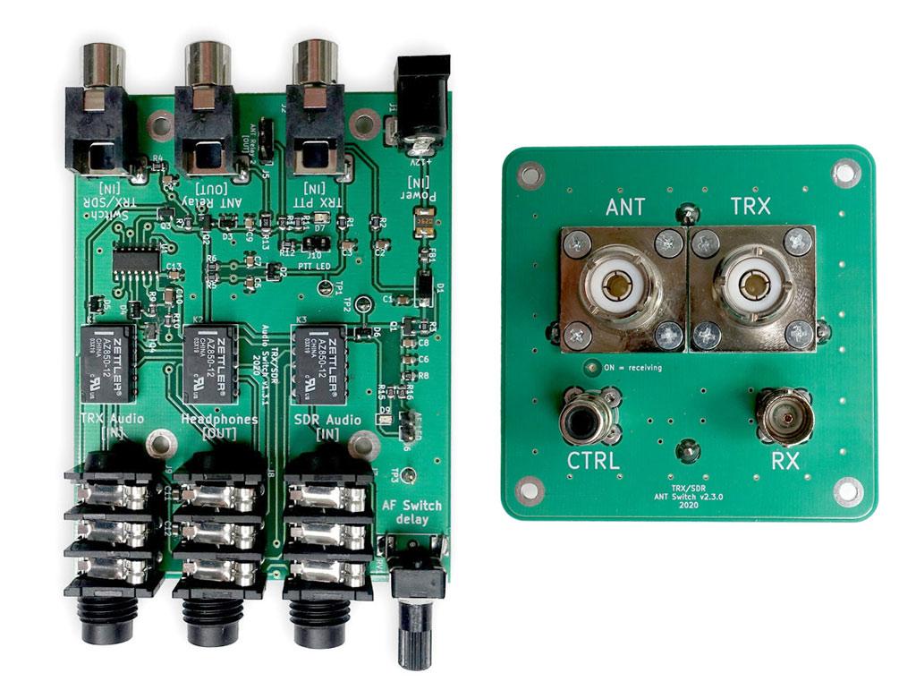 TRX-SDR Switch by LZ1AQ