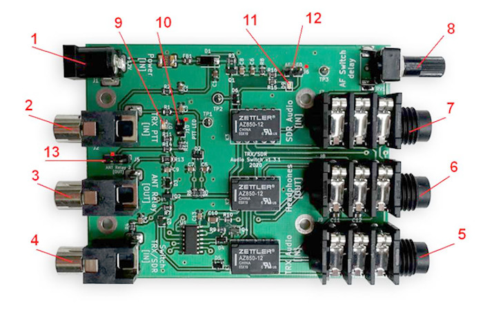 audio switch board annotated